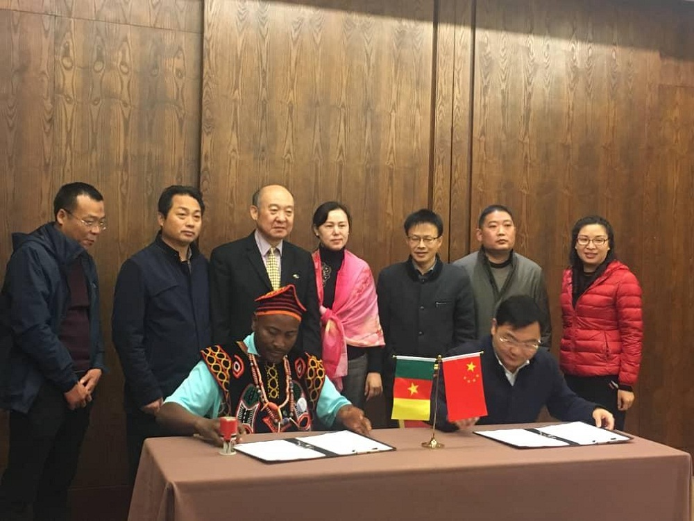 Bamenda III and China engage in a win win cooperation agreement