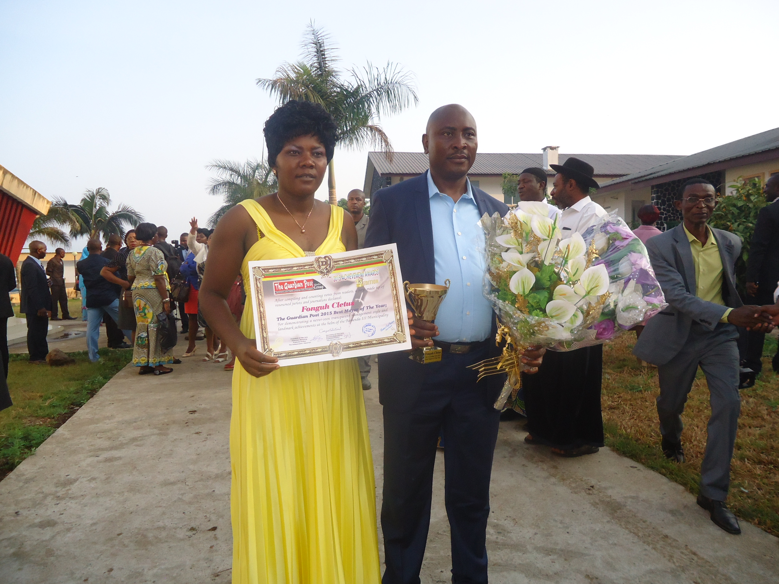 Bamenda III Sub Divisional Council CAMEROON BEST MAYOR AWARD