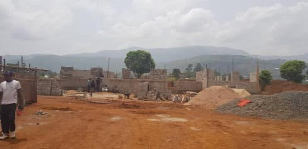 The Bamenda III Council in partnership with is constructing a modern slaughter House in Nkwen, Bamenda